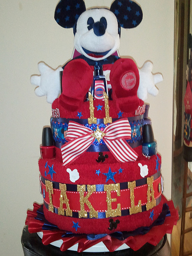 Mickey Mouse Graduation Cake