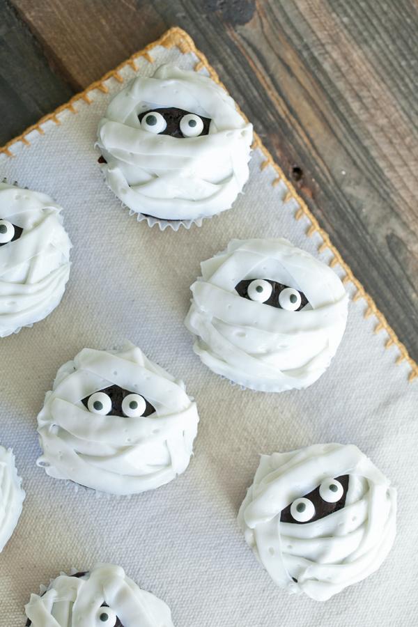 Mummy Halloween Cupcakes Recipes