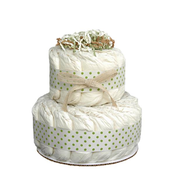 Organic Diaper Cakes Gift
