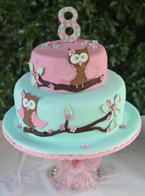 Owl Birthday Cake Ideas
