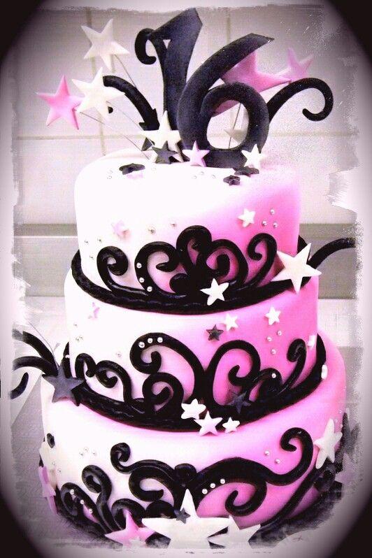 Pinterest Sweet Sixteen Cakes