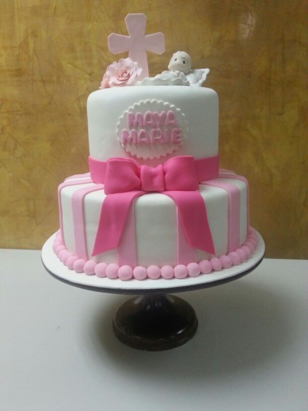 Precious Moments Baby Shower Cake