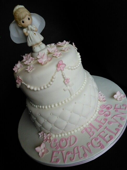 Precious Moments First Communion Cake