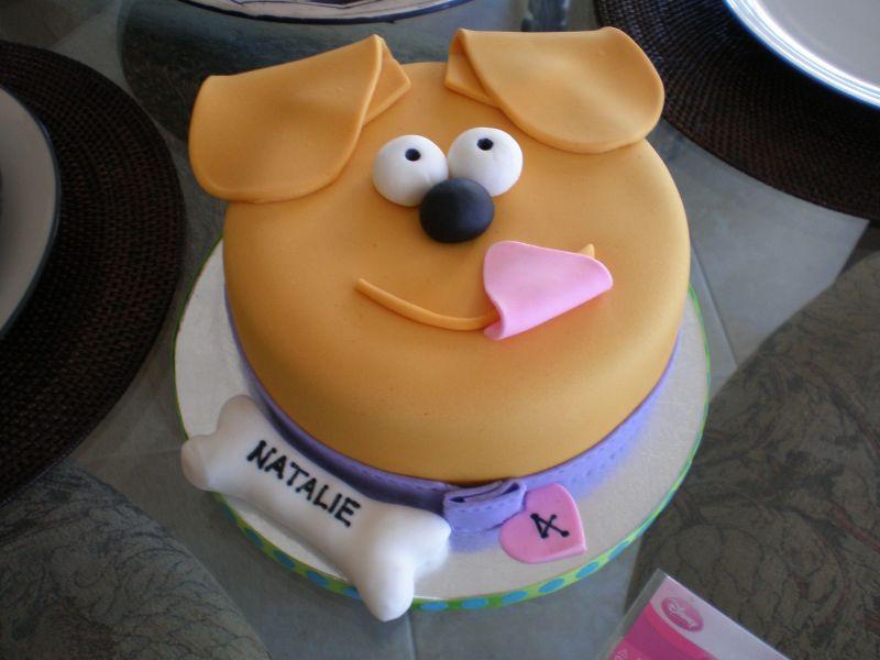 11 Photos of Theme Cakes Puppy Face