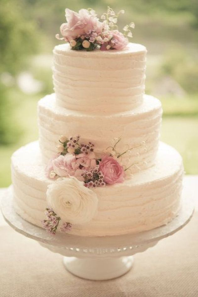 10 Photos of Shee Simple Wedding Cakes