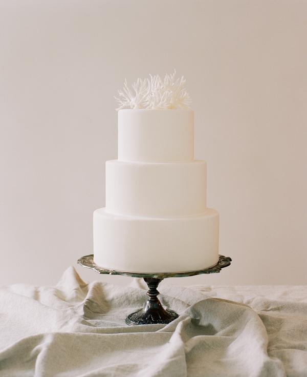 Simple Wedding Cake Topper