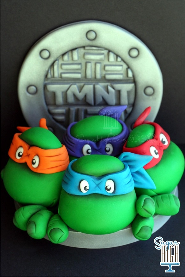 Teenage Mutant Ninja Turtles Cake Ideas