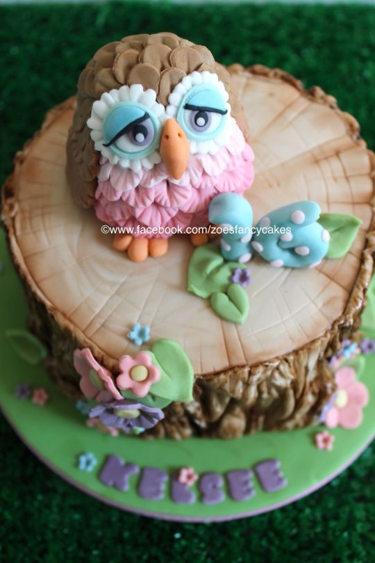 Tree Bark Cake Tutorial