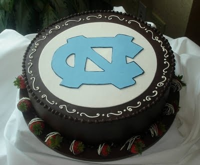 UNC Tar Heel Grooms Cake