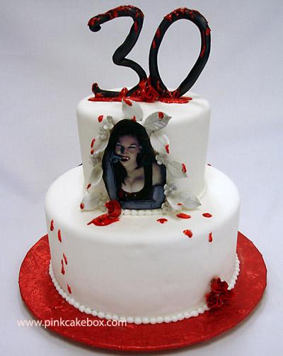 Miraculous 7 Vampire Halloween Birthday Cakes Photo Vampire Themed Birthday Funny Birthday Cards Online Overcheapnameinfo