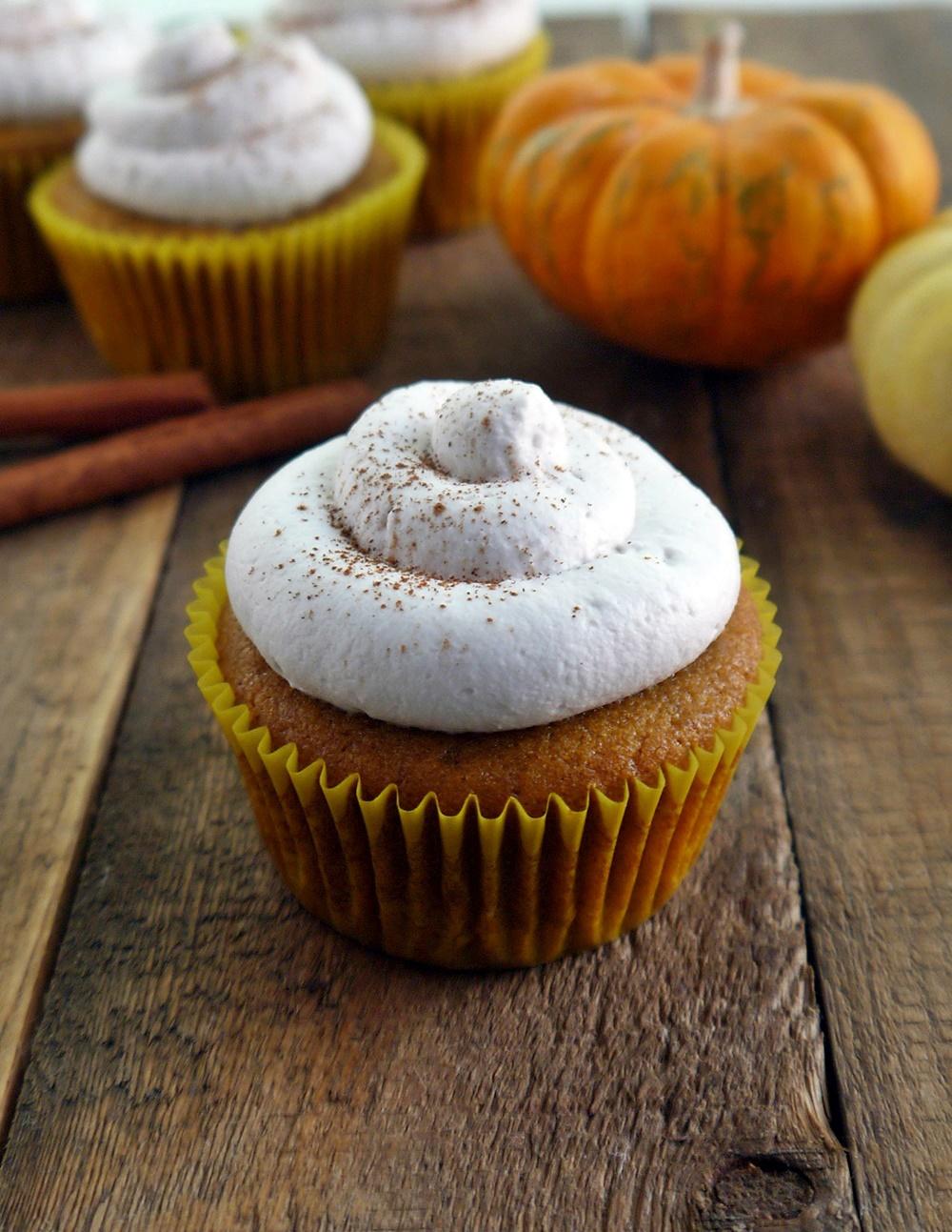 7 Photos of Vegan Pumpkin Cheesecake Cupcakes
