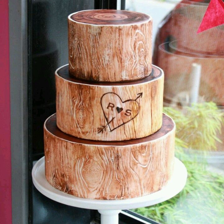 Woods Y Wedding Cake