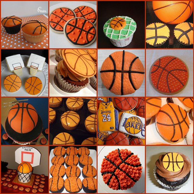 8 Photos of Cupcakes For Basketball Team