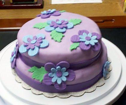 Beginner Fondant Cake Decorating