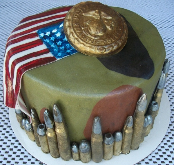 Best of the Best Marine Corps Cakes