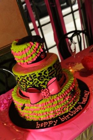 Betsey Johnson Birthday Cake