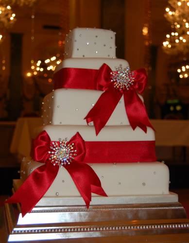 Big Christmas Wedding Cakes