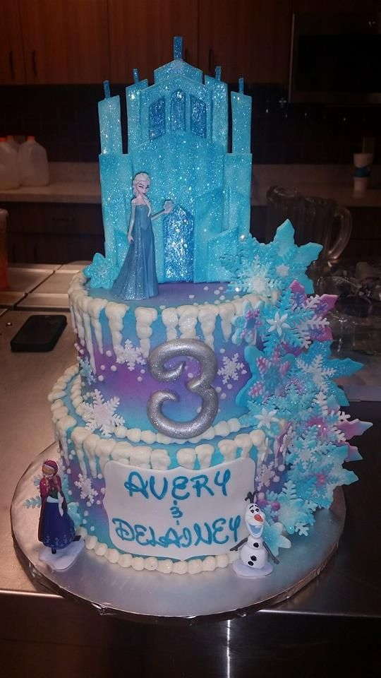 Awe Inspiring 12 Elsa And Anna Birthday Cakes Photo Anna And Elsa Disney Personalised Birthday Cards Paralily Jamesorg