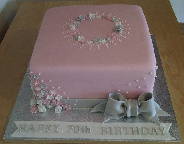 Birthday Cakes for 70th Birthday