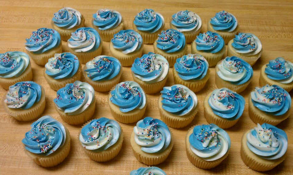 Boy Birthday Cupcakes