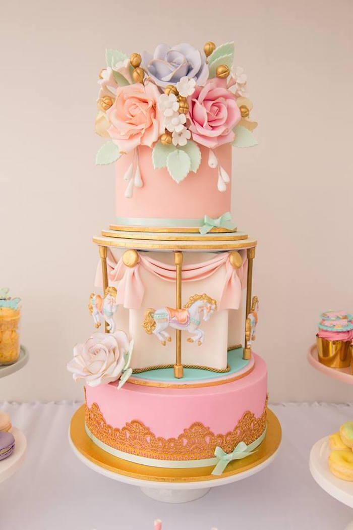 Carousel Birthday Cakes Ideas