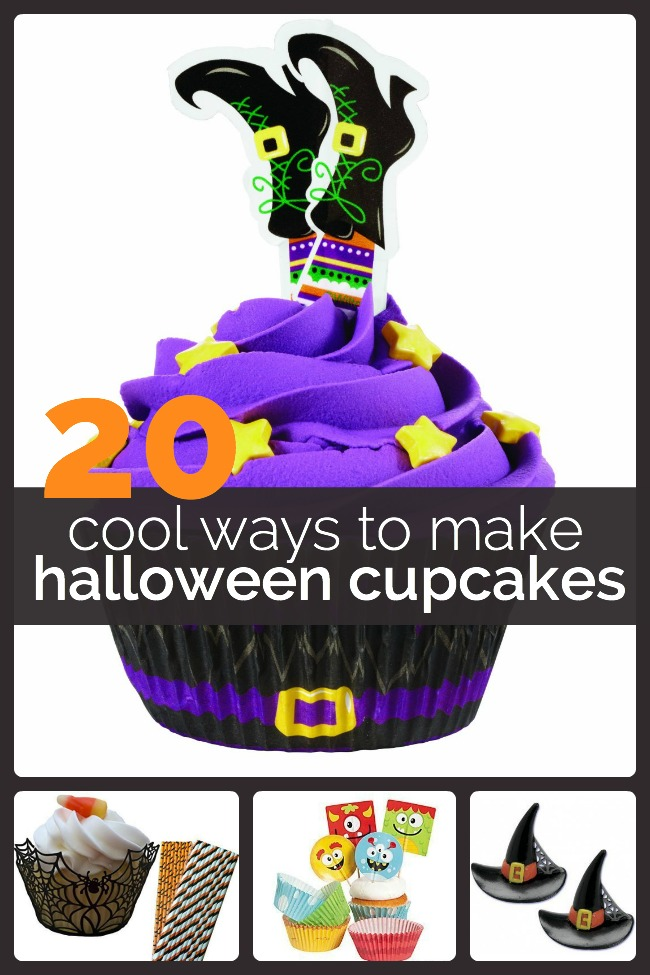 Cool Ways to Decorate Halloween Cupcakes