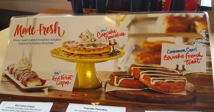Cupcake Pancakes Ihop