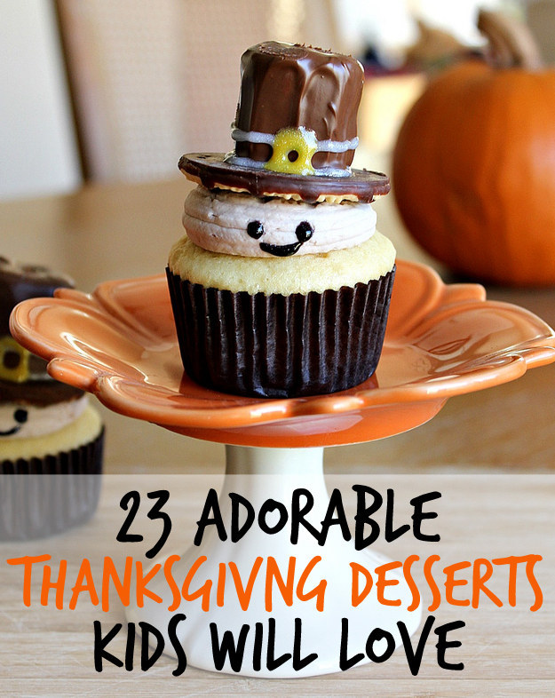 Cute Thanksgiving Cupcakes Pilgrim
