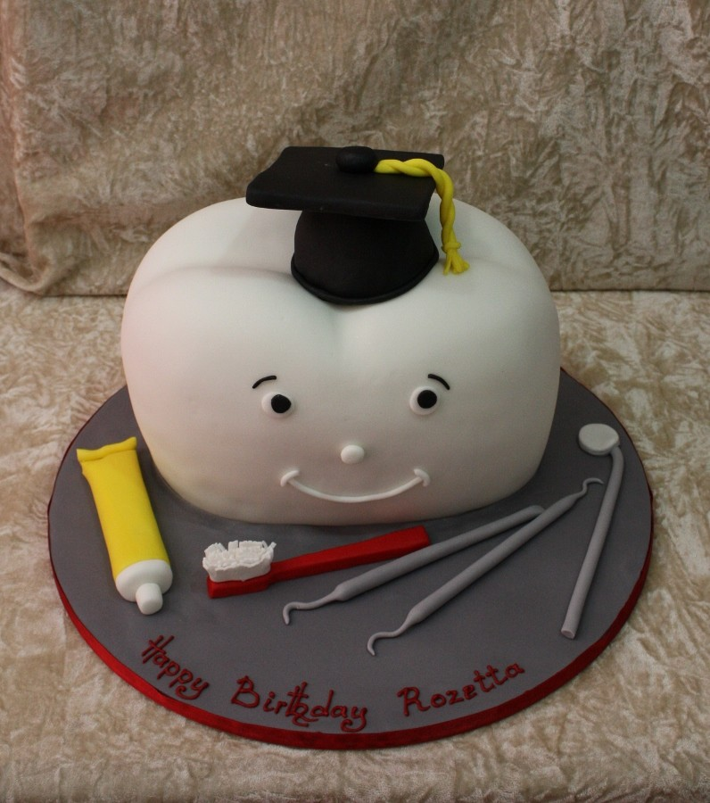 Dental Graduation Cake Ideas