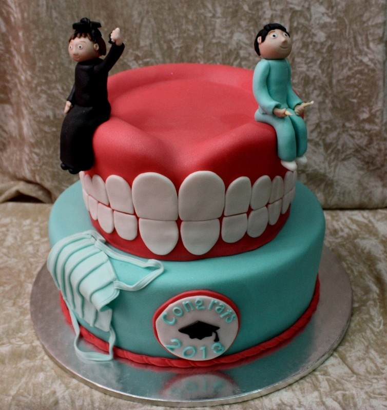 Dentist Birthday Cake