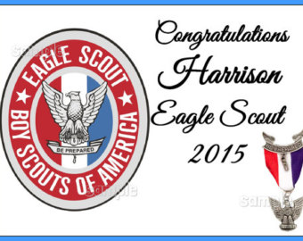Eagle Scout Emblem Cake