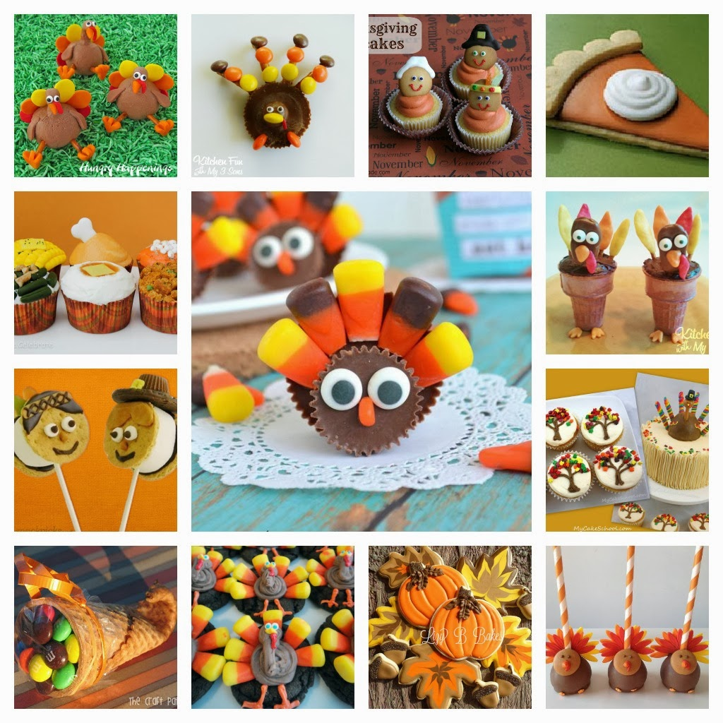 Fun Kid Thanksgiving Dessert Ideas