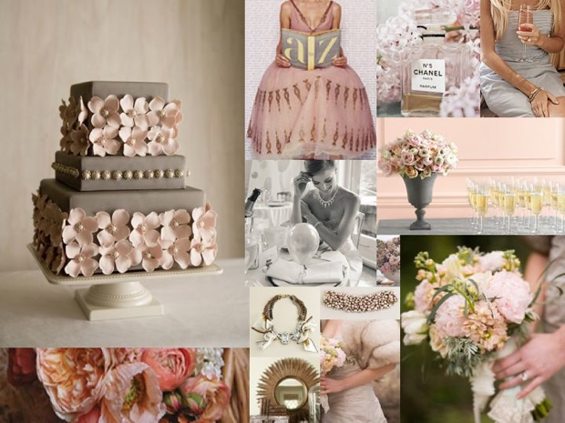 Gold and Blush Pink Wedding Ideas