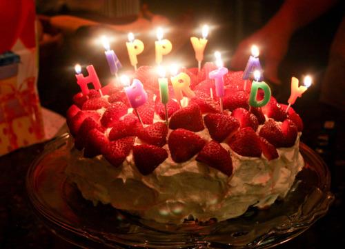Happy Birthday Cake Candles Tumblr