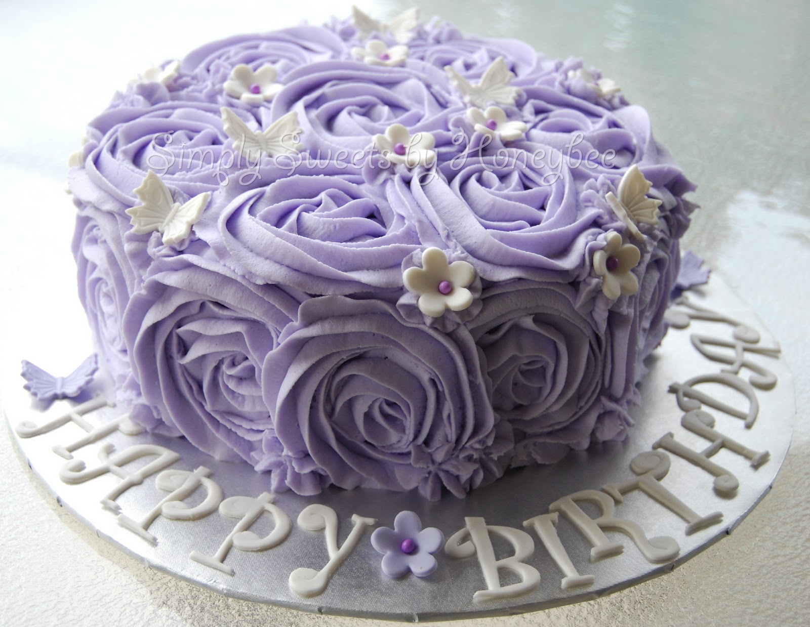 11 Photos of Happy Rose Cakes