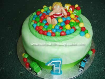 Homemade 1st Birthday Cake Ideas