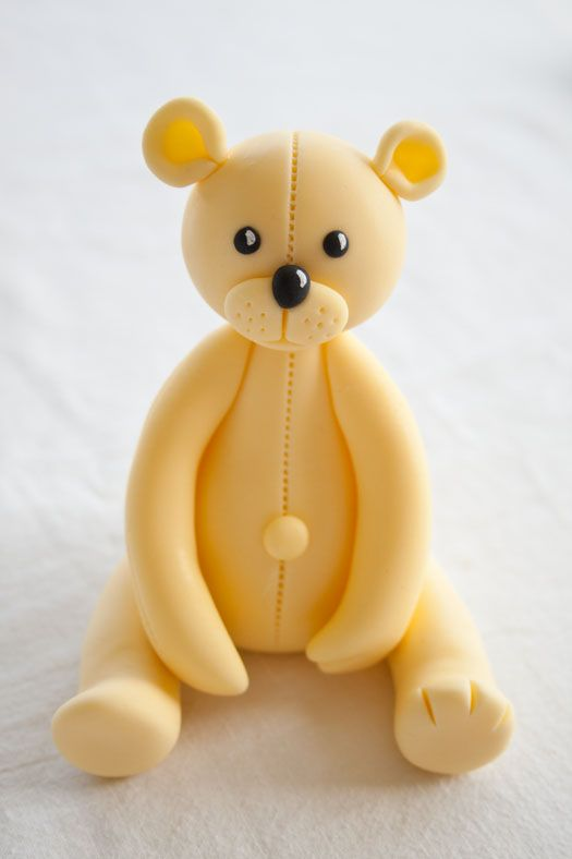 How to Make Teddy Bear Cake Toppers
