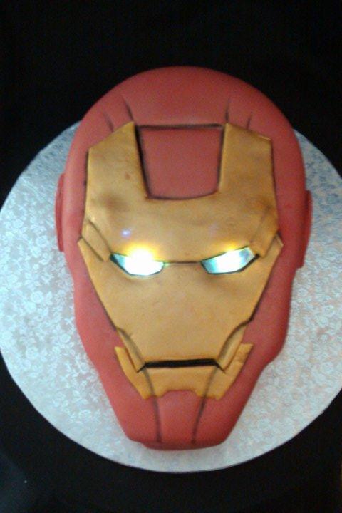 6 Photos of Cool Iron Man Cakes