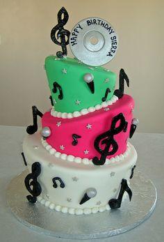 Karaoke Birthday Cake Ideas