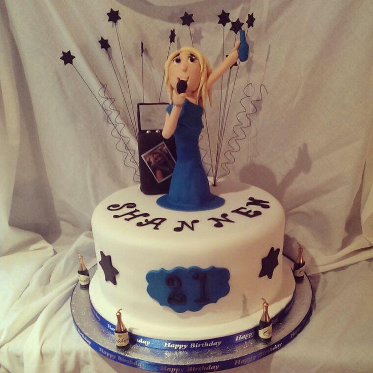 Karaoke Birthday Cake