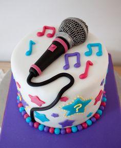 Karaoke Party Cake
