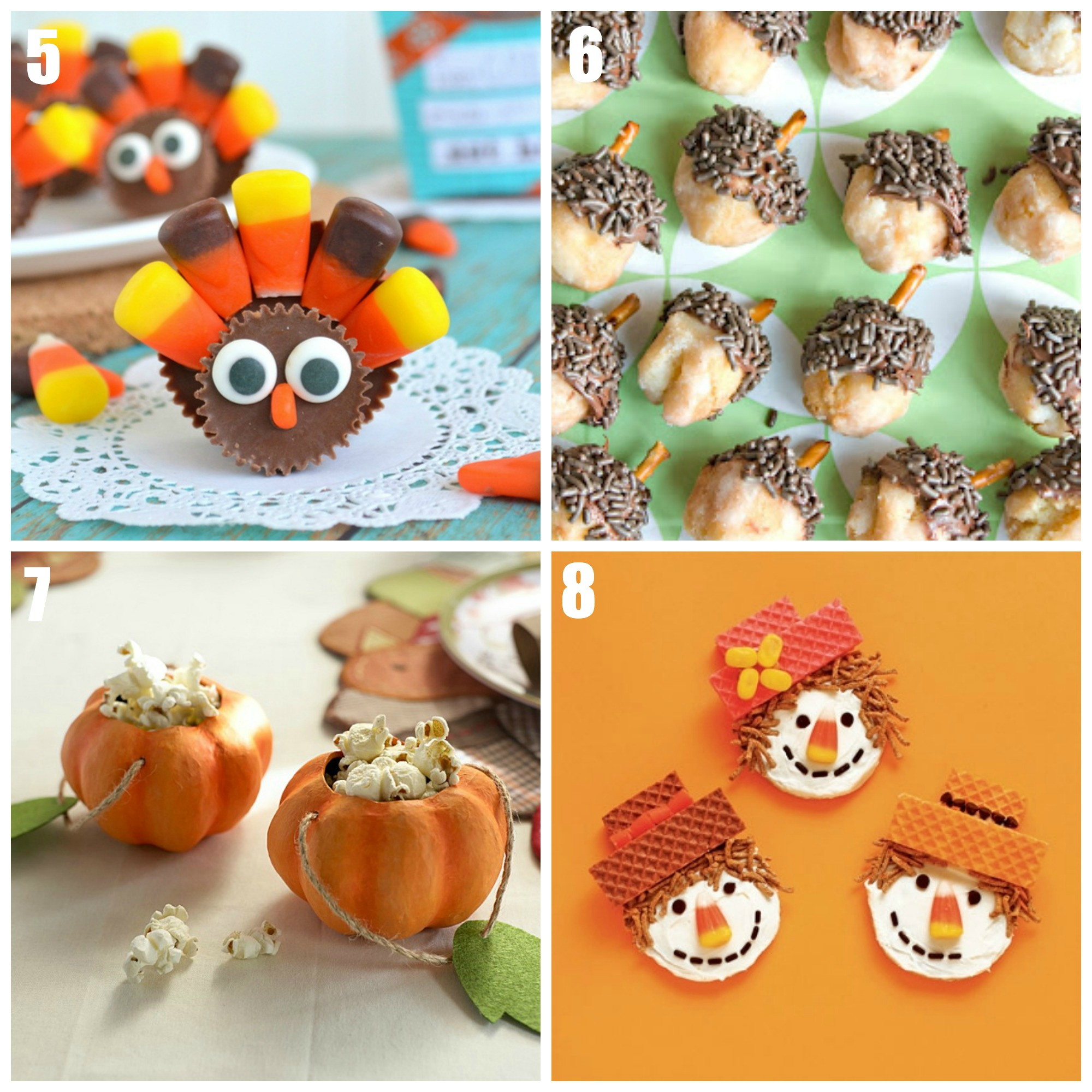 Kids Thanksgiving Dessert Ideas