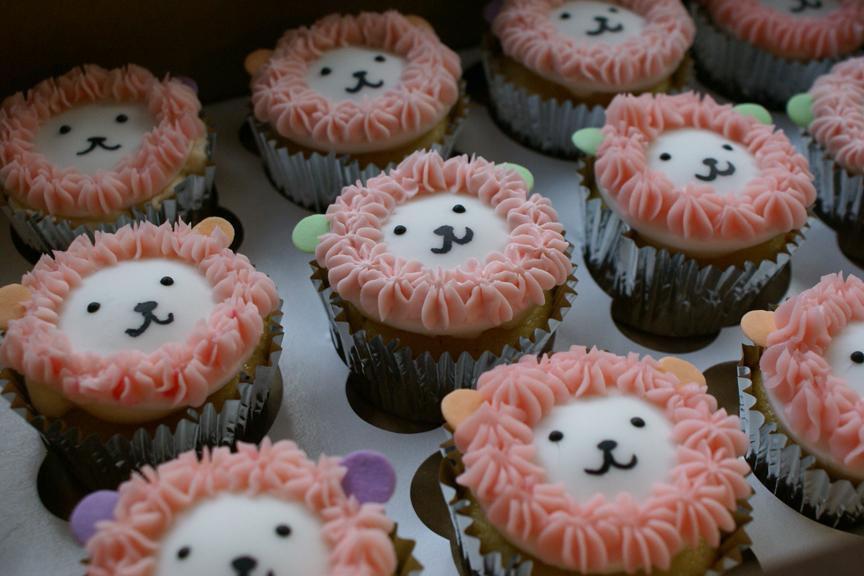 Lion Birthday Cupcakes