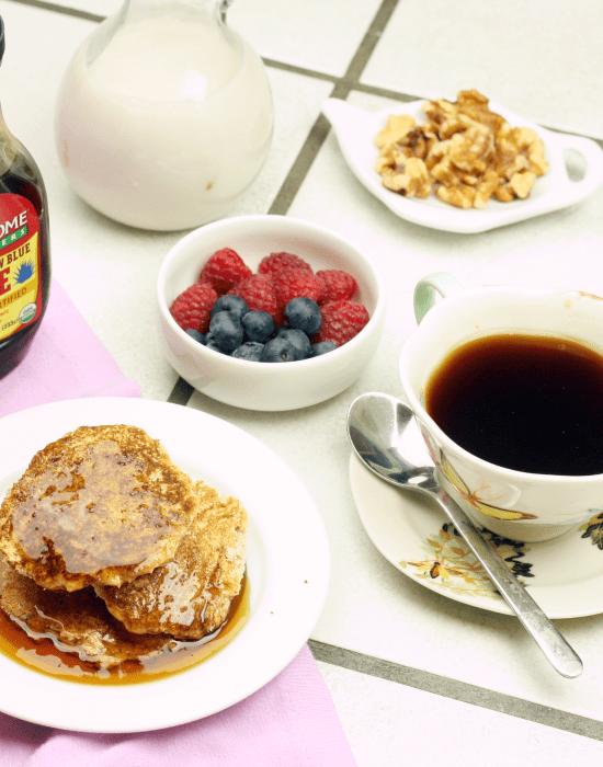Low Carb Coconut Flour Pancake Recipe
