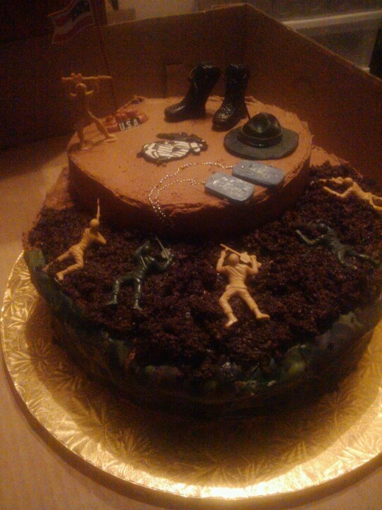 Marine Boot Camp Cake Ideas