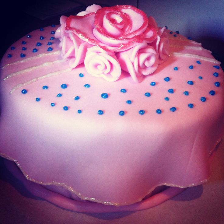 Marshmallow Fondant Cake Decorating