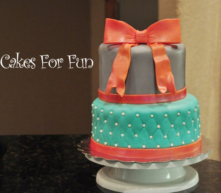 Marshmallows Fondant Cake Decoration