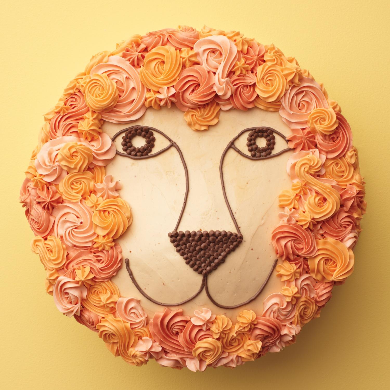 Martha Stewart Lion Cake