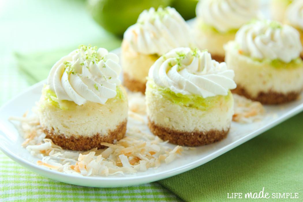 Mini Lime Cheesecakes Recipe