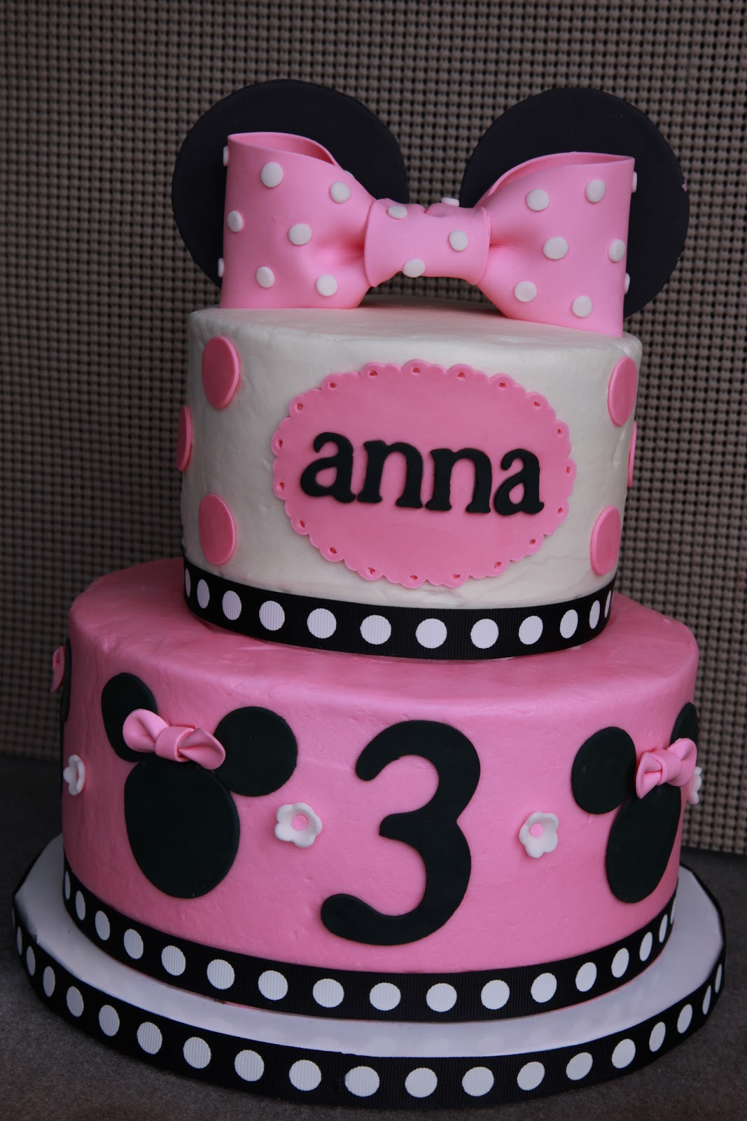 8 Photos of Minnie Mouse Cakes For Girls